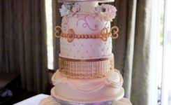 hooked on love fishing wedding cake topper melitafiore