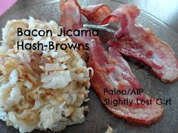 cuisine paleo bacon jicama hash browns paleo aip slightly lost