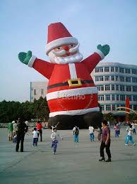 Lowes Inflatable Outdoor Christmas Decorations by Inflatable Holiday Decorations Part 27 X063 10m 33ft Hight