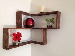 Corner Shelving Ideas by Wall Corner Shelf With Storage Shelves