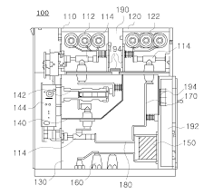 patent us20130050905 cubicle type gas insulated switchgear with