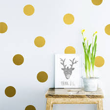 compare prices gold wall stickers online shopping buy low diy gold dots wall stickers decals kids children room home decoration vinyl art