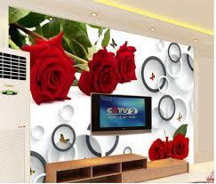 28 personalised wall murals aliexpress com buy beautiful personalised wall murals custom 3d mural wallpaper tv backdrop 3d flower wallpaper