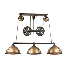 Island Pendant Lights by Kitchen Vintage Caged 4 Lights Over Kitchen Island Pendant