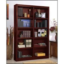 Cherry Wood Shelves by Amazon Com Wooden Bookshelves Double Wide 72