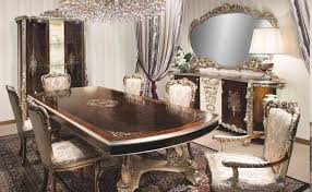 dining tables elegant and glamour italian dining room furniture