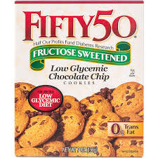 fifty 50 products low glycemic chocolate chip cookies low