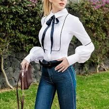 bow tie blouse adeline bow tie blouse chicnuit