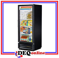 beer refrigerator glass door true cooler ebay