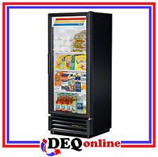 coca cola fridge glass door true cooler ebay