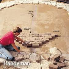 How To Build A Brick Shed Step By Step by Build A Stone Patio Or Brick Patio Family Handyman