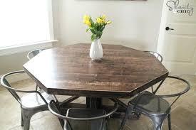 easy diy farmhouse dining table diy dining room table bench diy
