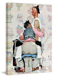 tattoo home decor tattoo artist canvas by norman rockwell tattoo home decor