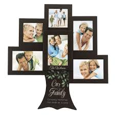 family tree 6 picture frame collage
