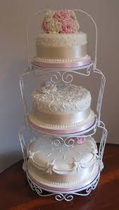 tiered wedding cakes iced magic cakes