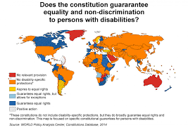 Brown Recluse Map Putting Fundamental Rights Of Persons With Disabilities On The Map