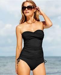 women u0027s beach living blouson tankini swimsuit top from lands u0027 end