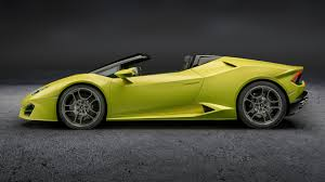 Lamborghini Huracan Automatic - lamborghini huracan spyder goes rear wheel drive for 2017 by car