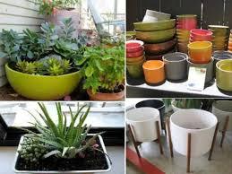 small home garden pots ideas youtube