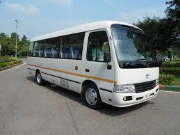 toyota van 11 seater toyota van rent in delhi toyota coaster minivan hire