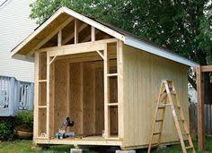 Free X Shed Plans Download Get Shed Plans Pinterest - Backyard storage shed designs
