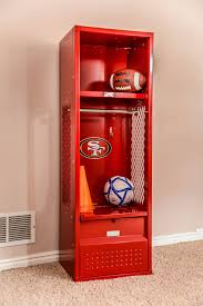 kids sport lockers lockers are great for storage or decorating sporty bedroom