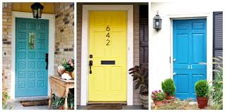 Outdated Home Decor by 8 Front Door Makeover Ideas How To Makeover Your Home Front Door