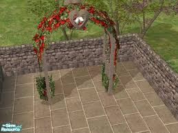 wedding arches in sims 3 c literati s garden wedding arch