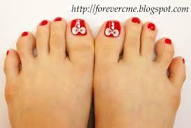 my daily life polka dot nail art design