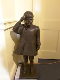 jfk jr young statue of young jfk jr picture of john f kennedy hyannis museum