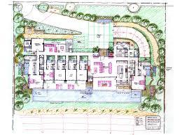 Building Site Plan Hand Sketches Ryan Levis Architect Inc