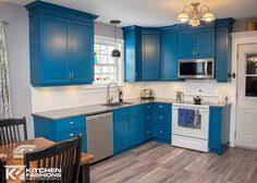 royal cobalt tardis blue kitchen cabients colored kitchens