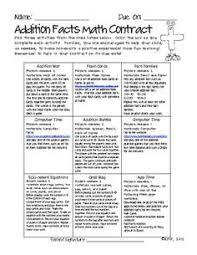 fluency folders for homework through the year addition