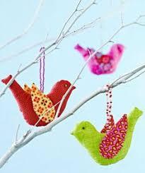 felt bird ornaments 300x200 felt bird ornaments crafty ideas