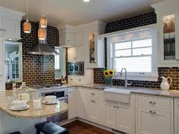 black subway tile kitchen backsplash search viewer hgtv