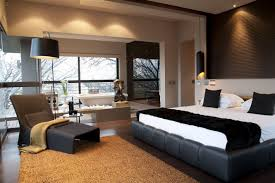 Black And White Bedroom Of Nico Interior Design Ideas - Modern house bedroom designs