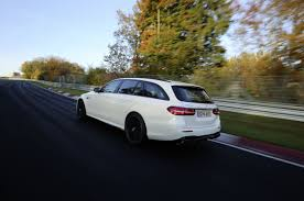 fastest mercedes amg mercedes amg e63 s is the fastest wagon around the nurburgring
