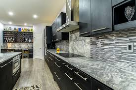 black kitchen cabinets with marble countertops kitchen cabinets image galleries for inspiration