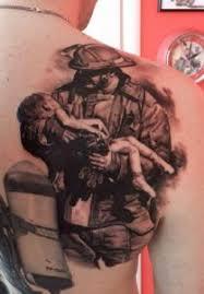 trash polka fireman tattoo google search ink pinterest