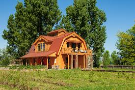 barn homes elegant barn homes with covered porch and upper deck 1