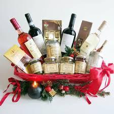 christmas wine gift baskets christmas wine gift basket