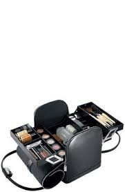 professional makeup trunk pro travel makeup kit with wheels ñ handle nib nwt