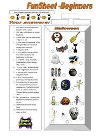503 free esl halloween worksheets