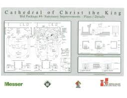 sanctuary floor plans fund raising broucher u2013 archives of cathedral of christ the king