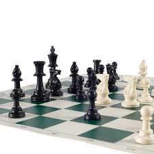 amazon com heavy tournament triple weighted chess set combo