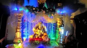 28 water decorations home 5 beautiful ways to use water water decorations home ganpati decoration youtube