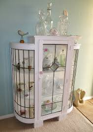 revamped leadlight china cabinet at www roseandsunday co nz rose