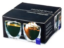 ozeri moderna artisan series double wall 2 oz insulated beverage