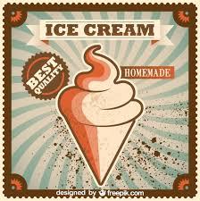 Home Design Vector Free Download Retro Home Made Ice Cream Poster Design Vector Free Vector