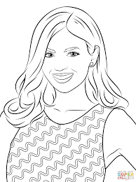 victoria justice coloring page free printable coloring pages